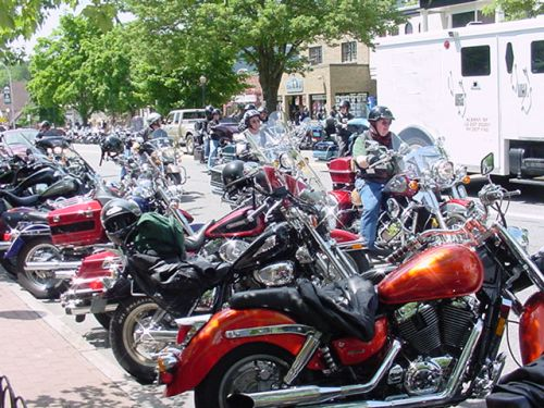 Americade Motorcycle Rally Day-by-Day Blog for 2007