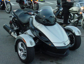 Motorcycle User Reviews - 2008 Can-Am Spyder Roadster