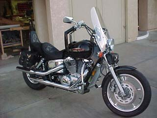 21 Years of Honda Shadow - Gallery Picture of a 1999 Honda