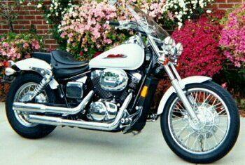 This Is My 2002 Honda Shadow Spirit, Model Designation VT750DC. It Is  Basically The Custom Styled Version Of The Honda 750 Line, As It Uses The  Same Engine ...