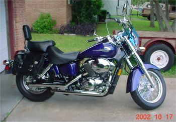21 Years Of Honda Shadow   Gallery Picture Of A 2002 Honda Shadow ACE  Deluxe 750