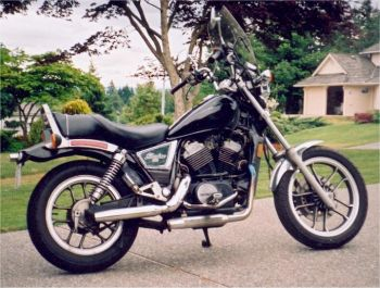 Honda Shadow Motorcycle Picture