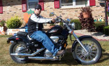 This Is My 1995 Honda Shadow VLX600.    Chad Turner