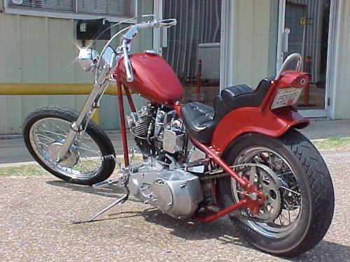 Motorcycle chopper picture