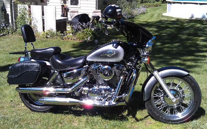 Motorcycle Pictures 1995 Honda Shadow Ace 1100 Moto Pic