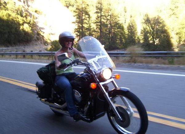 Motorcycle Pictures Of The Week Women 2007 Honda Shadow 750
