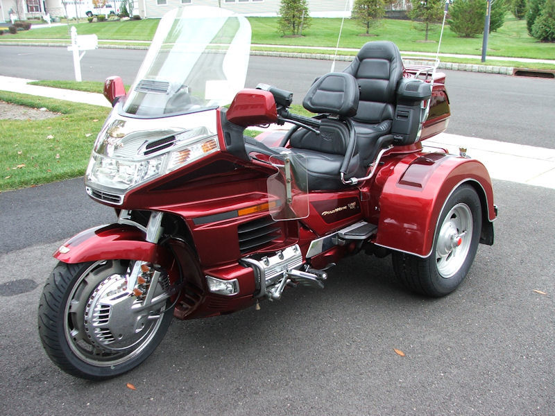 motorcycle trike pictures 2000 honda gold wing se 1500 w motortrike conversion. Black Bedroom Furniture Sets. Home Design Ideas