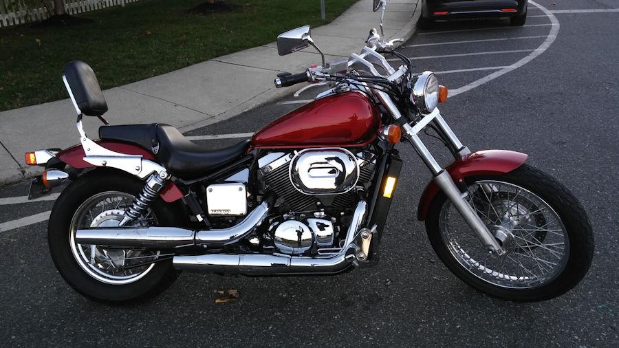 motorcycle pictures 2003 honda shadow spirit 750. Black Bedroom Furniture Sets. Home Design Ideas