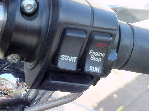 Engine stop switch